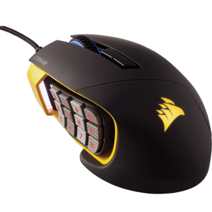 Мышь Corsair Scimitar PRO RGB Yellow-Black