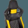 Кресло для геймера Corsair T1 Race Yellow 1522